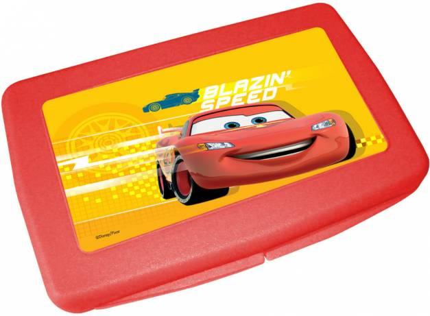 Estuche para toallitas rojo Cars