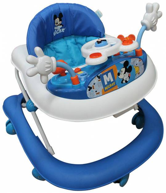 Disney Baby - Andador con bandeja electrica Mickey.