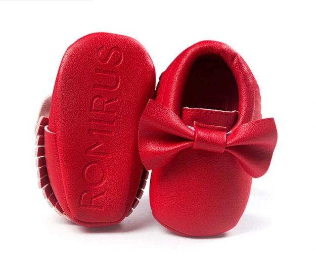 Zapato Mox Rojo - ROMIRUS
