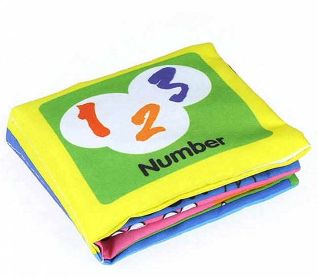 Libro de tela Number