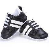 Zapatillas Tennies Negro con blanco