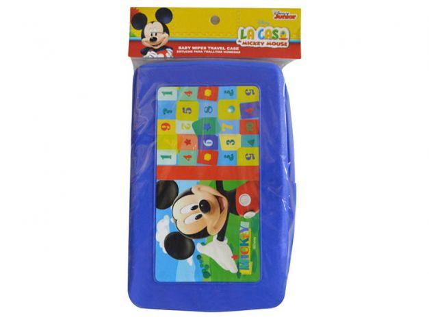 Disney Baby - Estuche para toallitas Azul Mickey