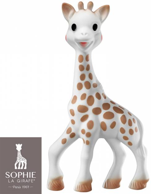 Sophie La Girafe - Juguete Mordedor de Caucho Natural