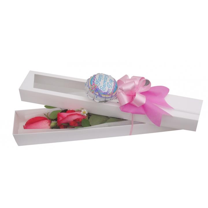 Caja de 02 Rosas