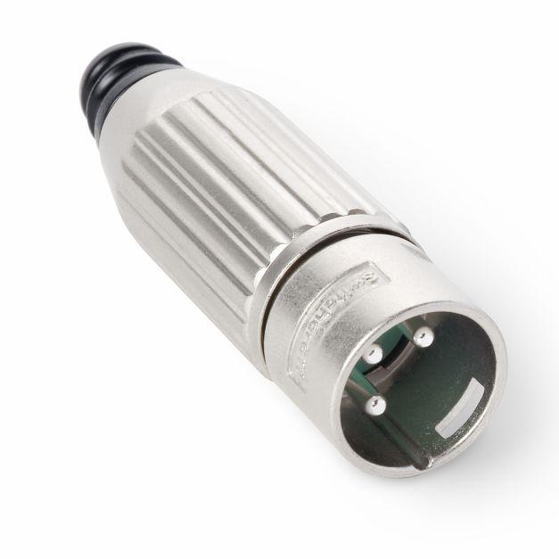Conector XLR (Canon) macho
