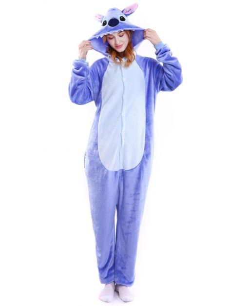 Pijama mono plush Stitch Unisex