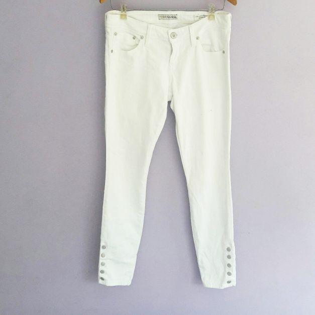 Jean blanco Guess