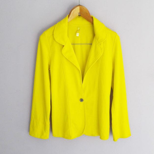 Blazer amarillo electrico