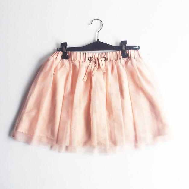Falda de tul color melón (#33THRIFTSHOP)