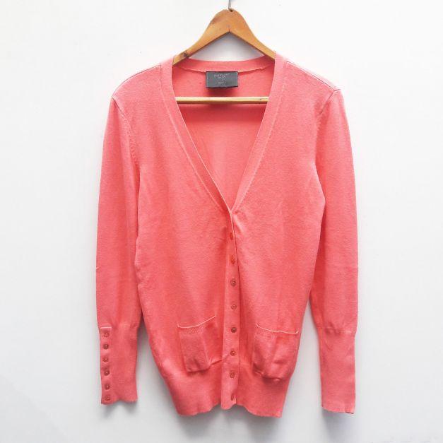 Cardigan rosado
