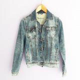 casaca jean  azul