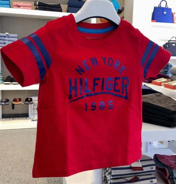 TOMMY HILFIGER CAMISETA M/C LB SS GIO T2 GRAPHI CHARGER