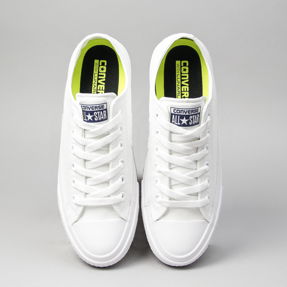 155f0f9136aac ... coupon zona outlet zapatillas converse chuck taylor ii ox white f4d70  ebede