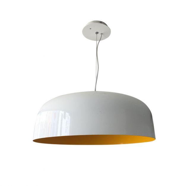 Lámpara Aluminio Blanco / Amarillo