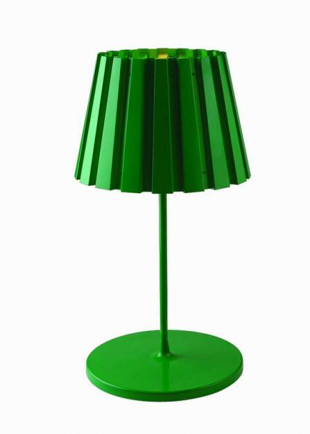 Lámpara Aluminio Metal Verde