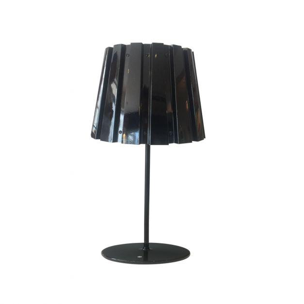 Lámpara Aluminio Metal Negro