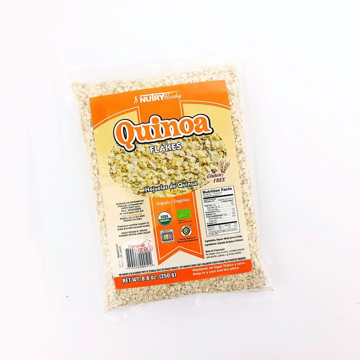 HOJUELAS DE QUINUA ORGÁNICA 250GR NUTRYBODY