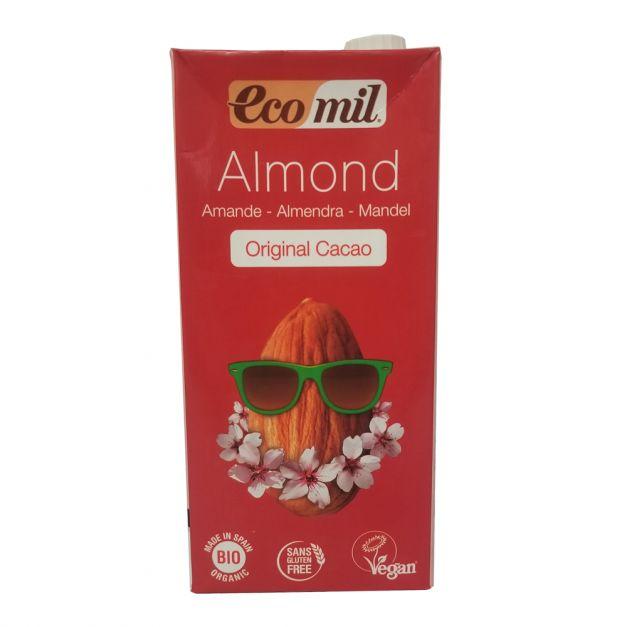 LECHE DE ALMENDRAS CON CACAO ECOMIL 1LT