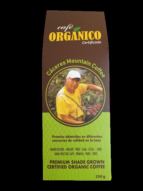 CAFÉ ORGÁNICO CACERES MOUNTAIN