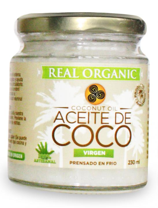 ACEITE DE COCO 230GR REAL ORGANIC