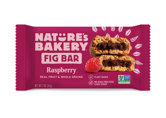 FIG BAR DE RASPBERRY NATURE´S BAKERY