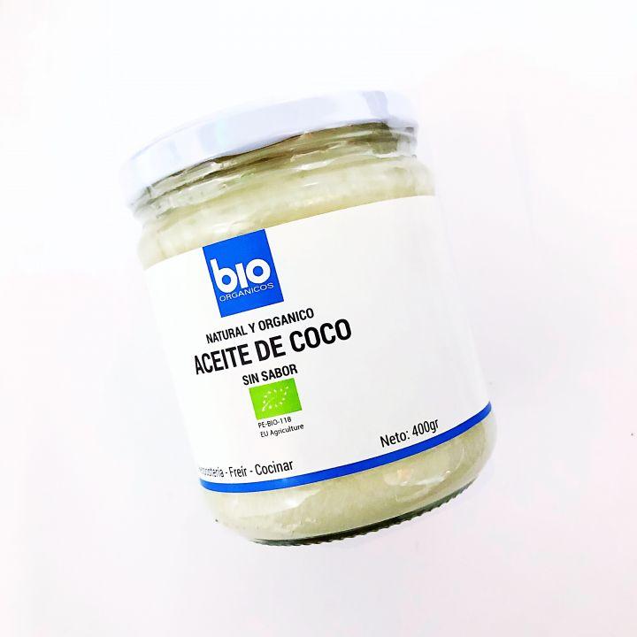ACEITE DE COCO ORGÁNICO 400GR BIOORGS