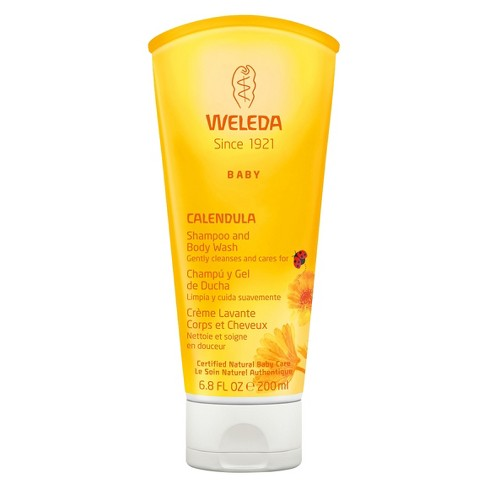 SHAMPOO AND BODY WASH CALENDULA 200ML WELEDA
