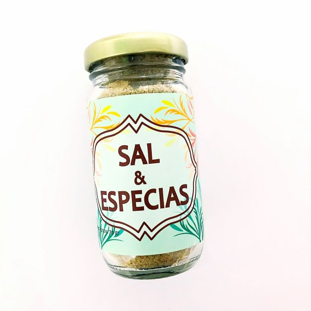 SAL CON ESPECIAS 100GR CAMPOS DE VIDA