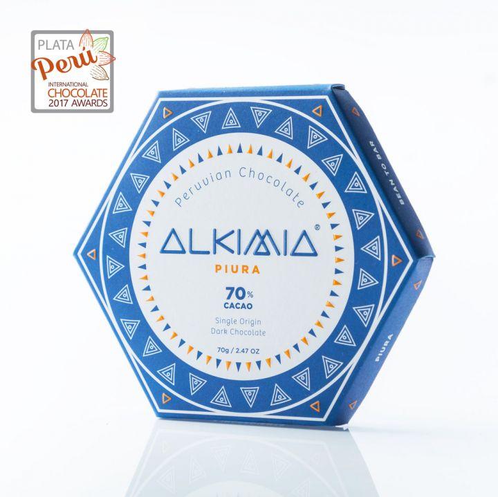 CHOCOLATE ALKIMIA PIURA 70%