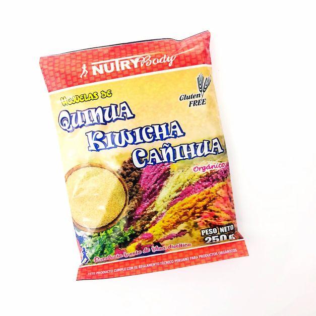 HOJUELAS DE QUINUA, KIWICHA Y CAÑIHUA NUTRYBODY