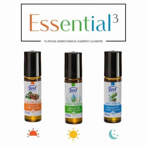 ACEITES ESSENTIAL 3 - 5ML - JUST