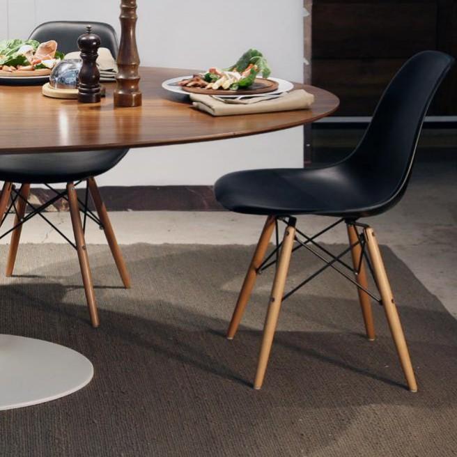 The popular design silla dsw eames negro r plica - Silla eames amazon ...