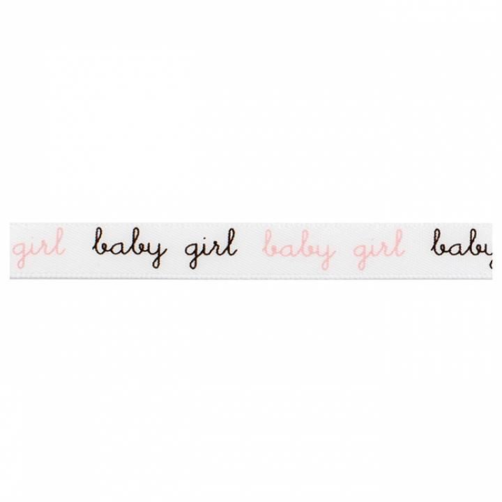 American Crafts - Ribbon baby girl
