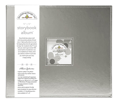 Doodlebug - Album color plateado - 30x30