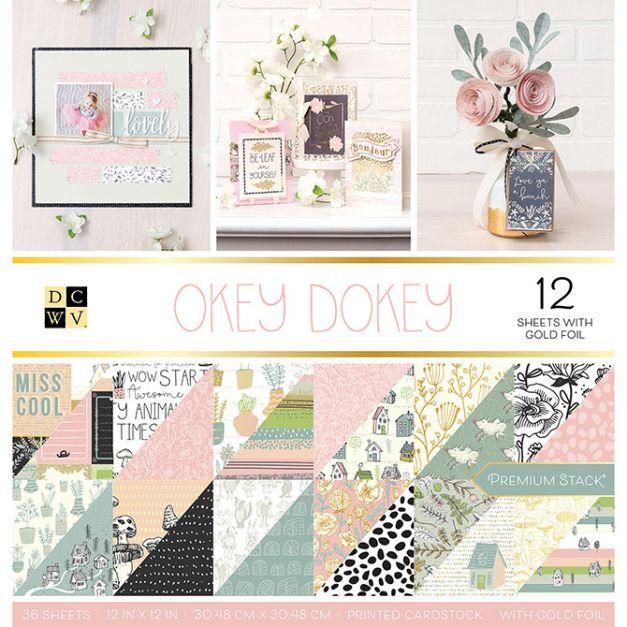 DCWV - Colección  Okey dokey x36