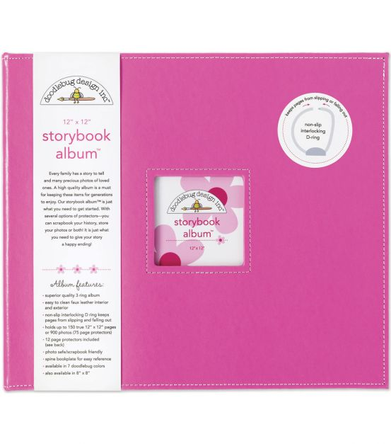 Doodlebug - Album color bubblegum - 30x30
