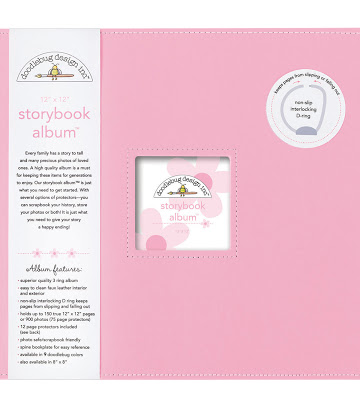 Doodlebug - Album color cupcake - 30x30