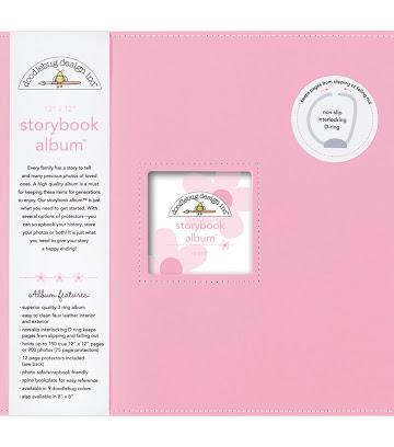 Doodlebug - Album color cupcake - 30x30