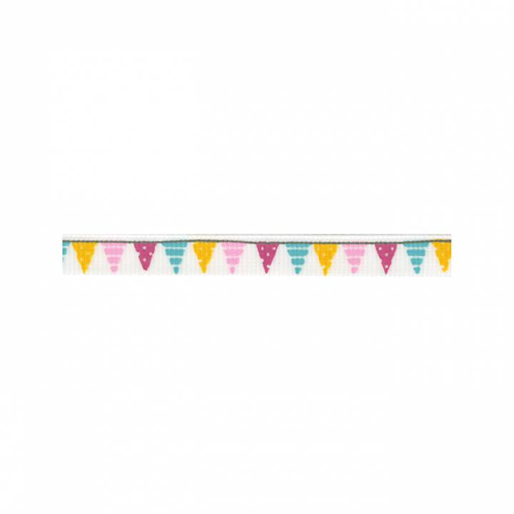 American Crafts - 3/8 ribbon colored banners