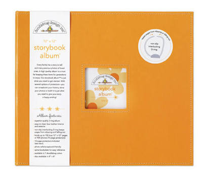 Doodlebug - Album color tangerine - 30x30
