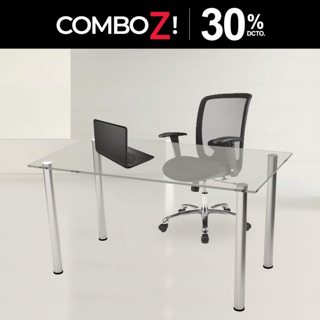 1 Mesa Lissa RB1270 4LY + 1 Silla Advance Neo