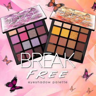 BREAK FREE EYESHADOW PR BOX LIMITED EDITION