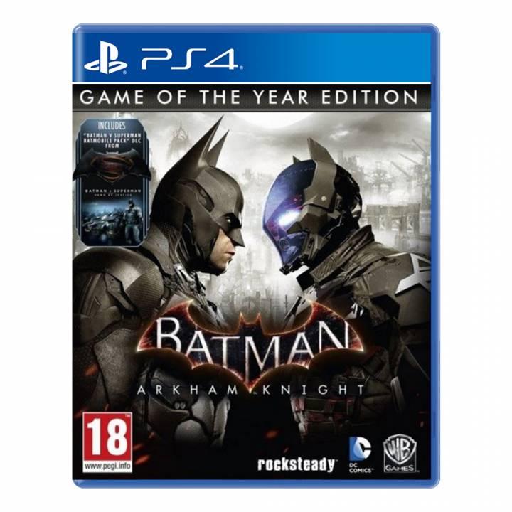 Batman: Arkham Knight G.O.T.Y. Edition - PS4