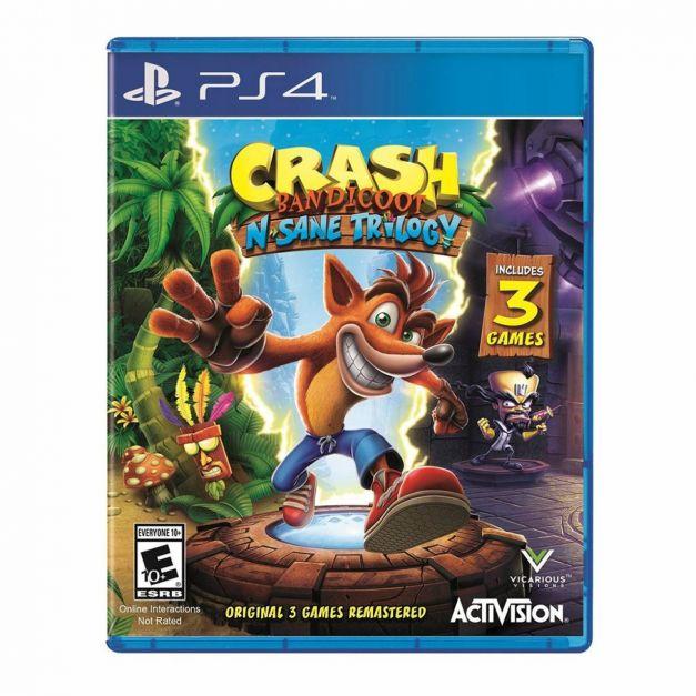 Crash Bandicoot N'Sane Trilogy - PS4