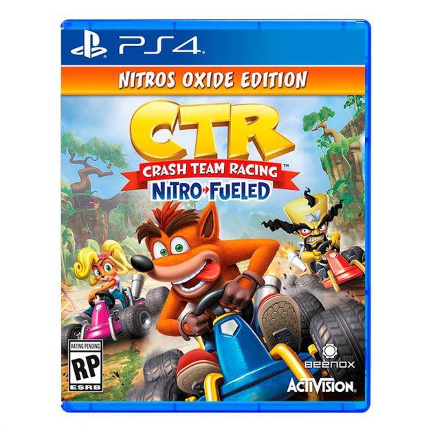 Crash Team Racing Nitro-Fueled Nitros Oxide Edition - PS4
