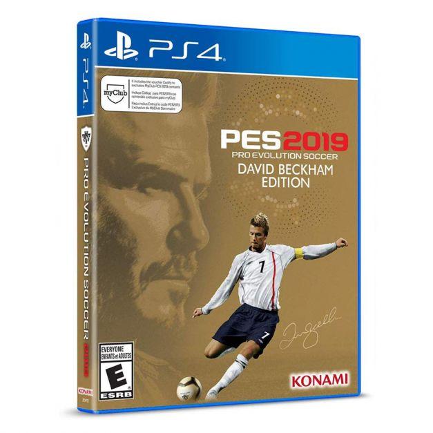 Pro Evolution Soccer 2019 - PES 2019 David Beckham Edition - PS4