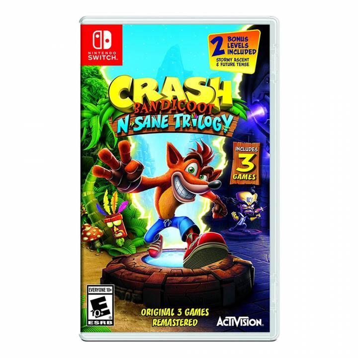 Crash Bandicoot N'Sane Trilogy - Nintendo Switch