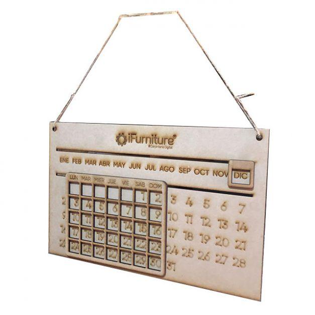 Calendario Colgante (Hanging Calendar)