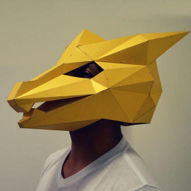 Máscara Dragón Dorado