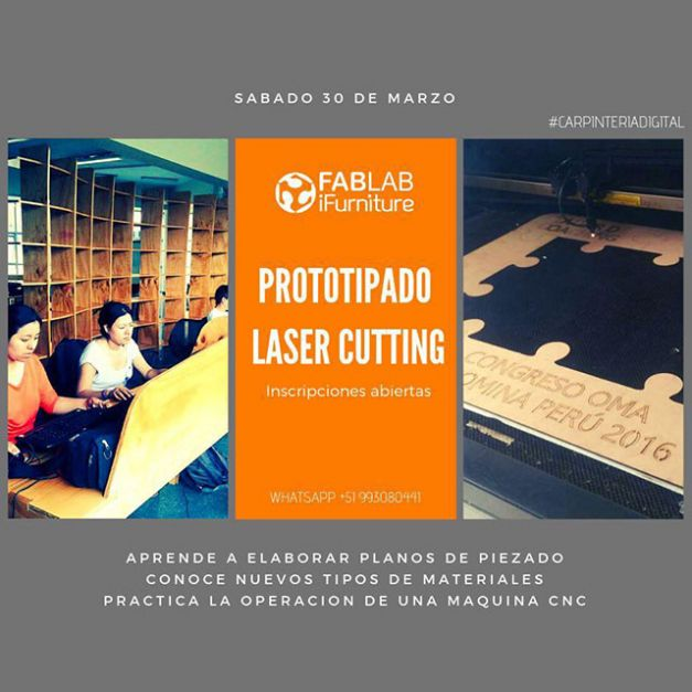 Taller de Prototipado Laser Cutting